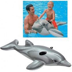 Надуваем делфин малък 175х66см,възраст 3+ 58535NP - Спорт и Свободно време