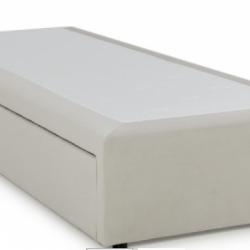 Тапицирано легло Основа с чекмеджета, луксозна дамаска - Ivveks