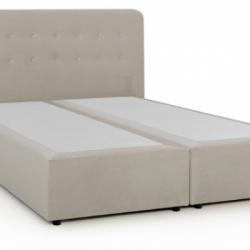 Тапицирано легло Твърда основа, висококачествен текстил - Ivveks