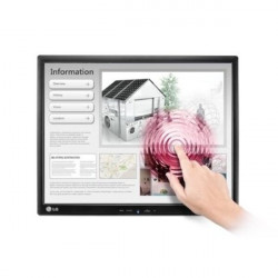 "LG 19MB15T, 18.9"" 5:4 LED Touch Screen Anti-Glare, IPS Panel, 14ms, 5000000:1 DFC, 250cd, 1280x1024, USB - LG"