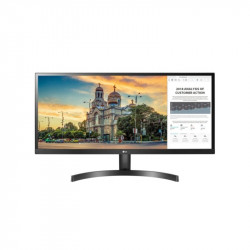 "LG 29WL500-B, 29"" UltraWide AG, IPS Panel, 5ms, CR 1000:1, 250 cd/m2, 21:9, 2560x1080, HDR 10, sRGB over 99% , Radeon FreeSync, 75Hz, HDMI, Tilt, Headphone Out, Black -"