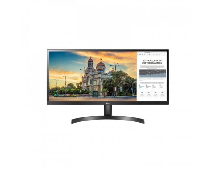 "LG 29WL500-B, 29"" UltraWide AG, IPS Panel, 5ms, CR 1000:1, 250 cd/m2, 21:9, 2560x1080, HDR 10, sRGB over 99% , Radeon FreeSync, 75Hz, HDMI, Tilt, Headphone Out, Black"