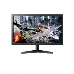 """LG 24GL600F-B, 23.6"""" TN, AG, 1ms 144Hz, Mega DFC, 300cd/m2, Full HD 1920x1080, Radeon FreeSync, HDMI, DisplayPort, Headphone Out, Tilt, Black - LG"""