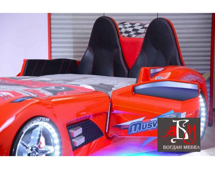 Легло кола Мебели Богдан модел Мултикар, за матрак 90 / 190 см - Детски легла