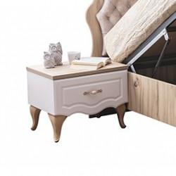 Луксозно нощно шкафче за детска стая Memo.bg модел Balat Welt Creme - Sonata T