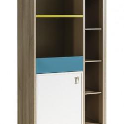 Луксозен шкаф-библиотека за детска стая Memo.bg модел Green - Sonata T