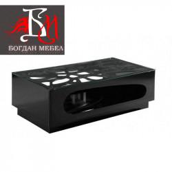 Холна маса Memo.bg модел Киара black - Sonata T