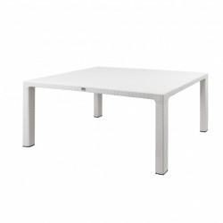 Градинска маса N Furniture CT065BM, цвят бяла - N Furniture