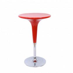 Бар маса N Furniture NAD103BM, цвят червен - N Furniture