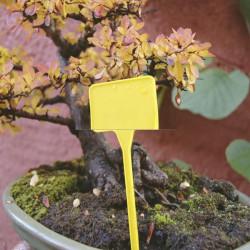 Табелка Nortene Label  15 см, жълт - Аксесоари за градина
