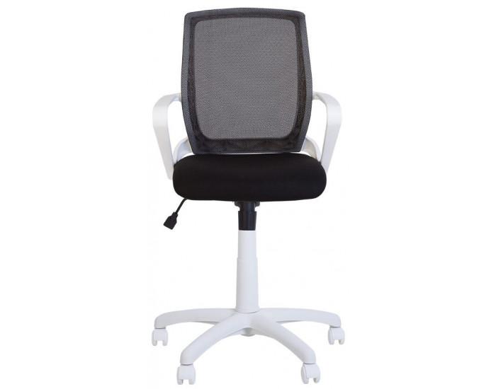 Работен офис стол Fly white