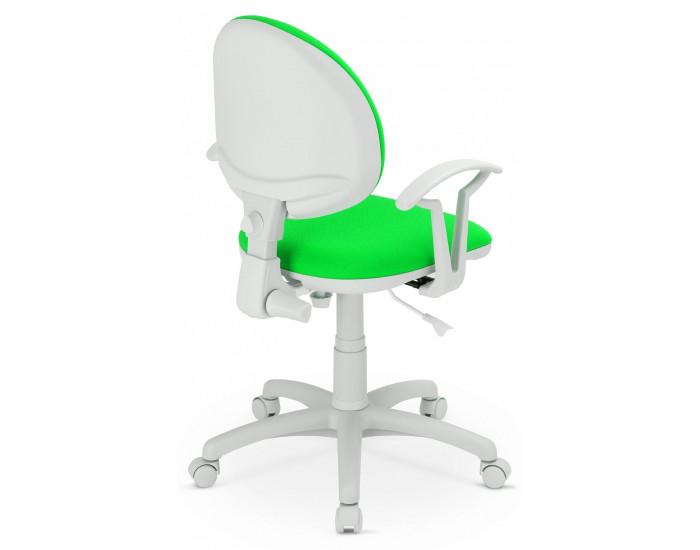 Работен офис стол Smart White