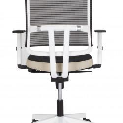 Работен офис стол @-sense white -