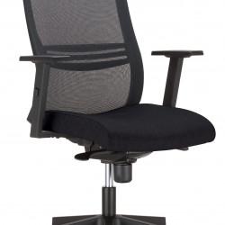 Работен офис стол Altum black -