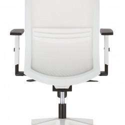 Работен офис стол Altum white -