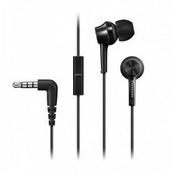 Слушалки с микрофон Panasonic RP-TCM105E-K - Компютри, Лаптопи и периферия