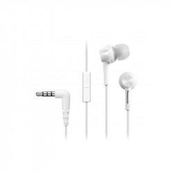 Слушалки с микрофон Panasonic RP-TCM115E-W - Компютри, Лаптопи и периферия
