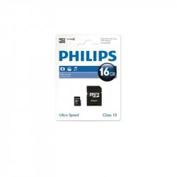 Карта памет Philips MICRO SDHC 16GB CI.10 - Компютри, Лаптопи и периферия