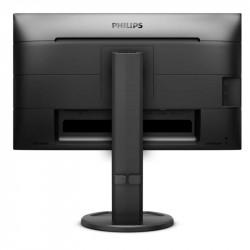 "Philips 241B8QJEB, 23.8"" Wide IPS, LED, 5ms, 1000:1, 20M:1 DCR, 250cd/m2, 1920x1080@60Hz, Tilt, Swivel, Heigh Adjust, Pivot, D-Sub, HDMI, DVI, DP, USB, Headphone Out , Speakers, Black - Телевизори"