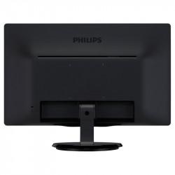 "Philips 243V5QHSBA, 23.6"" MVA WLED, 1920x1080@60Hz, 8ms GtG, 250cd/m2, 3000:1, DC50M:1, FlickerFree, Tilt, D-SUB, DVI, HDMI - Телевизори"