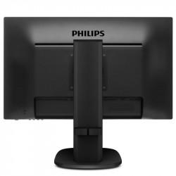 """Philips 243S5LHMB, 23.6"""" WLED TN, 1920x1080@60Hz, 1ms GtG, 250cd/m2, 1000:1, DC10M:1, 2Wx2, Tilt, Height Adjust, Pivot, Swivel, D-SUB, HDMI - Телевизори"""