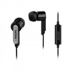 Слушалки с микрофон Philips SHE1405BK/10 - Аудио и Звукозапис