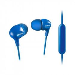 Слушалки с микрофон Philips SHE3555BL/00 - Аудио и Звукозапис