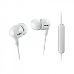 Слушалки с микрофон Philips SHE3555WT/00 - Аудио и Звукозапис