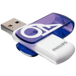 Памет USB Philips VIVID EDITION 64GB 2.0 - Компютри, Лаптопи и периферия