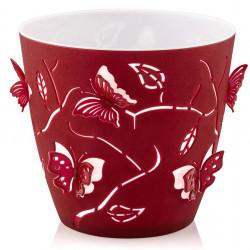 Саксия Butterfly 3D,  Ф11 cm. - Мебели и Интериор