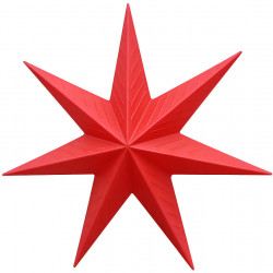 Светеща Звезда (висяща) - Сезонни и Празнични Декорации