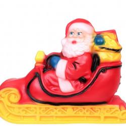 Дядо Коледа на шейна - Сезонни и Празнични Декорации