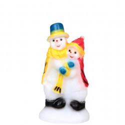 Снежен човек Влюбен - Сезонни и Празнични Декорации