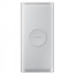 Външна батерия Samsung EB-U1200CSEGWW WIRELESS BATT. PACK 10000mAh SILVER - Компютри, Лаптопи и периферия