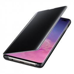 Калъф за смартфон Samsung S10+ VIEW EF-ZG975CBEGWW BLACK - Телефони и Таблети