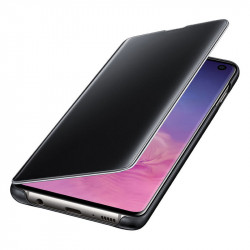 Калъф за смартфон Samsung S10 VIEW EF-ZG973CBEGWW BLACK - Телефони и Таблети