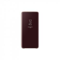 Калъф за смартфон Samsung EF-ZG965CF GOLD CLEAR VIEW COVER FOR S9+ - Телефони и Таблети