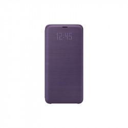 Калъф за смартфон Samsung EF-NG965PV PURPLE LED VIEW COVER FOR S9+ - Телефони и Таблети