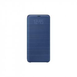 Калъф за смартфон Samsung EF-NG965PL BLUE LED VIEW COVER FOR S9+ - Телефони и Таблети