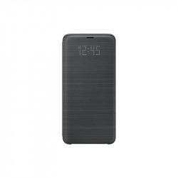 Калъф за смартфон Samsung EF-NG965PB BLACK LED VIEW COVER FOR S9+ - Телефони и Таблети