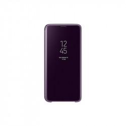 Калъф за смартфон Samsung EF-ZG960CV PURPLE CLEAR VIEW COVER FOR S9 - Телефони и Таблети