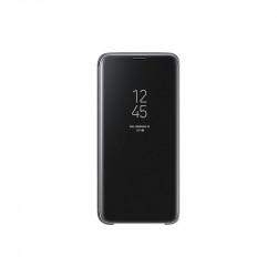 Калъф за смартфон Samsung EF-ZG960CB BLACK CLEAR VIEW COVER FOR S9 - Телефони и Таблети