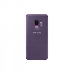 Калъф за смартфон Samsung EF-NG960PV PURPLE LED VIEW COVER FOR S9 - Телефони и Таблети