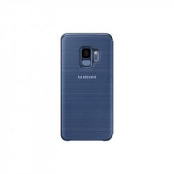 Калъф за смартфон Samsung EF-NG960PL BLUE LED VIEW COVER FOR S9 - Телефони и Таблети