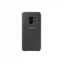 Калъф за смартфон Samsung EF-NG960PB BLACK LED VIEW COVER FOR S9 - Телефони и Таблети