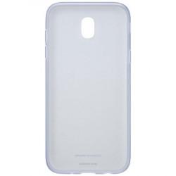 Калъф за смартфон Samsung EF-AJ730TL JELLY COVER BLUE J7 (2017) - Телефони и Таблети