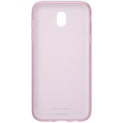 Калъф за смартфон Samsung EF-AJ730TP JELLY COVER PINK J7 (2017) - Телефони и Таблети