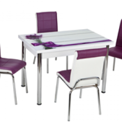 Комплект Маса с 4 Стола CB071 - Комплекти маси и столове