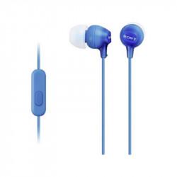 Слушалки с микрофон Sony MDR EX15APL - Аудио и Звукозапис
