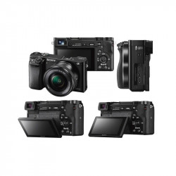 Фотоапарат Sony ILCE6000LB - Фото, Авто и електроника